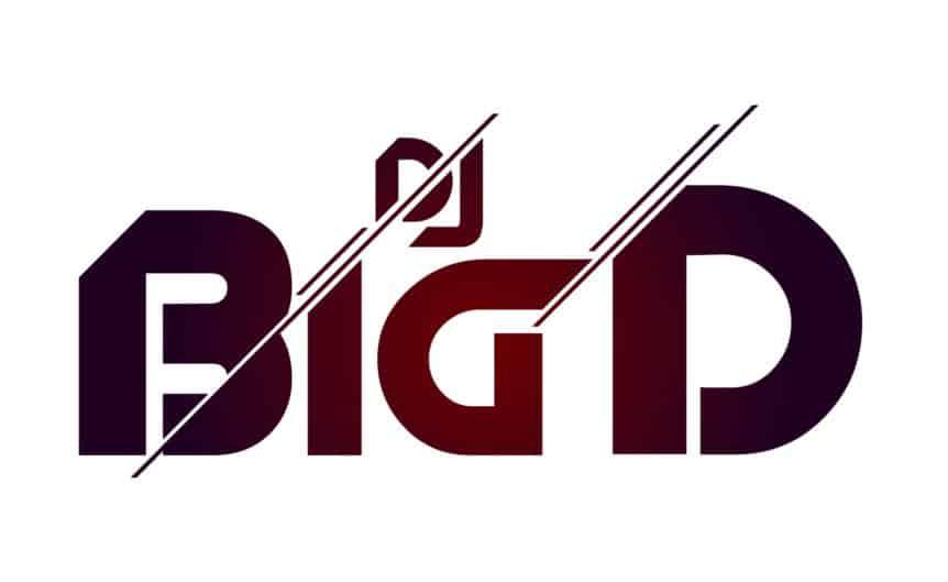 DJ Big D- djlogodesign.co.uk logo