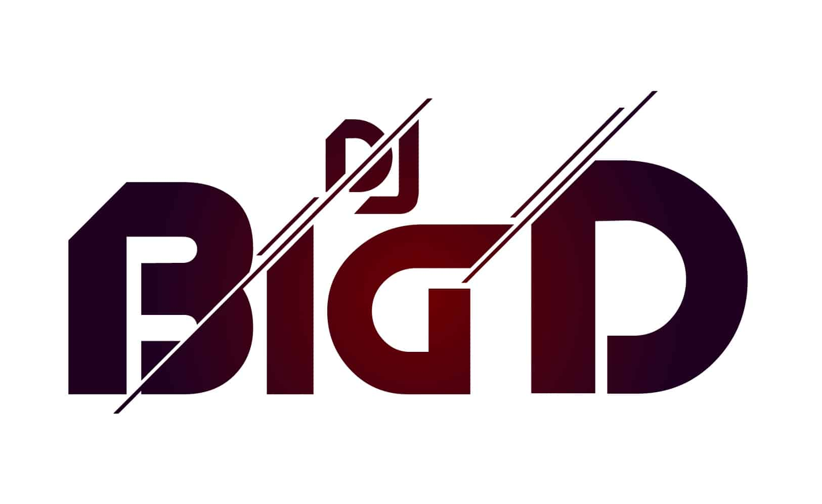 DJ Big D- djlogodesign.co.uk logo