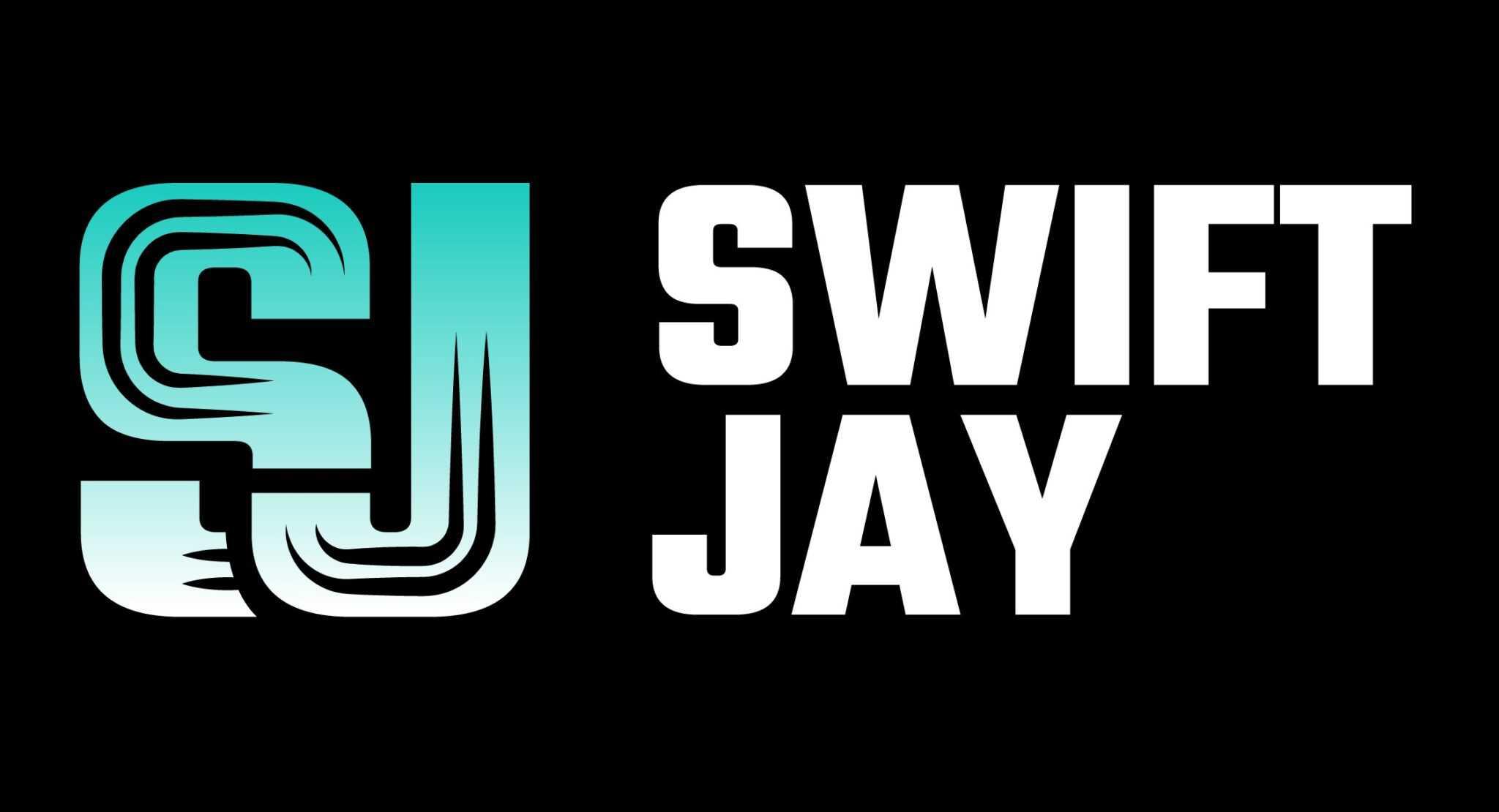DJ Swift Jay - djlogodesign.co.uk logo